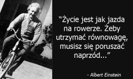 Einstein Zycie jak Rower