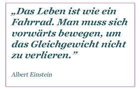 Einstein Zycie jak Rower_niem
